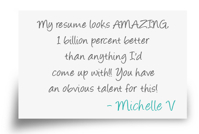 Resume Writing Testimonials