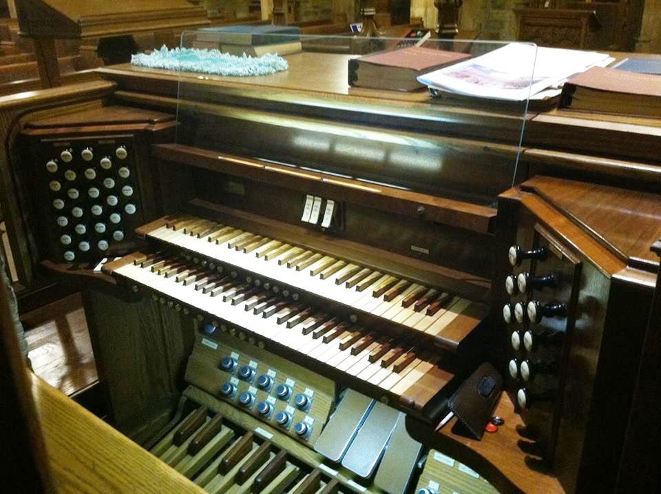 The Seiler Memorial Organ Console