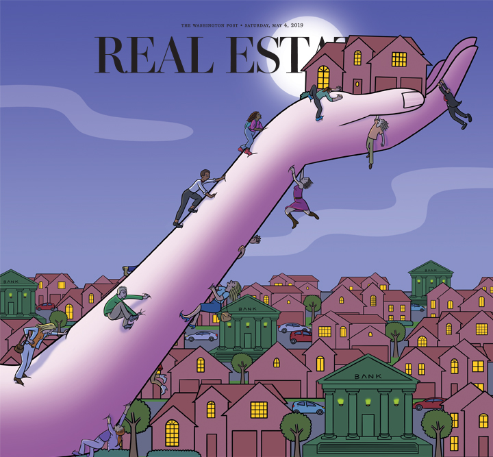 Washington Post Real Estate Section cover, May 2, 2019