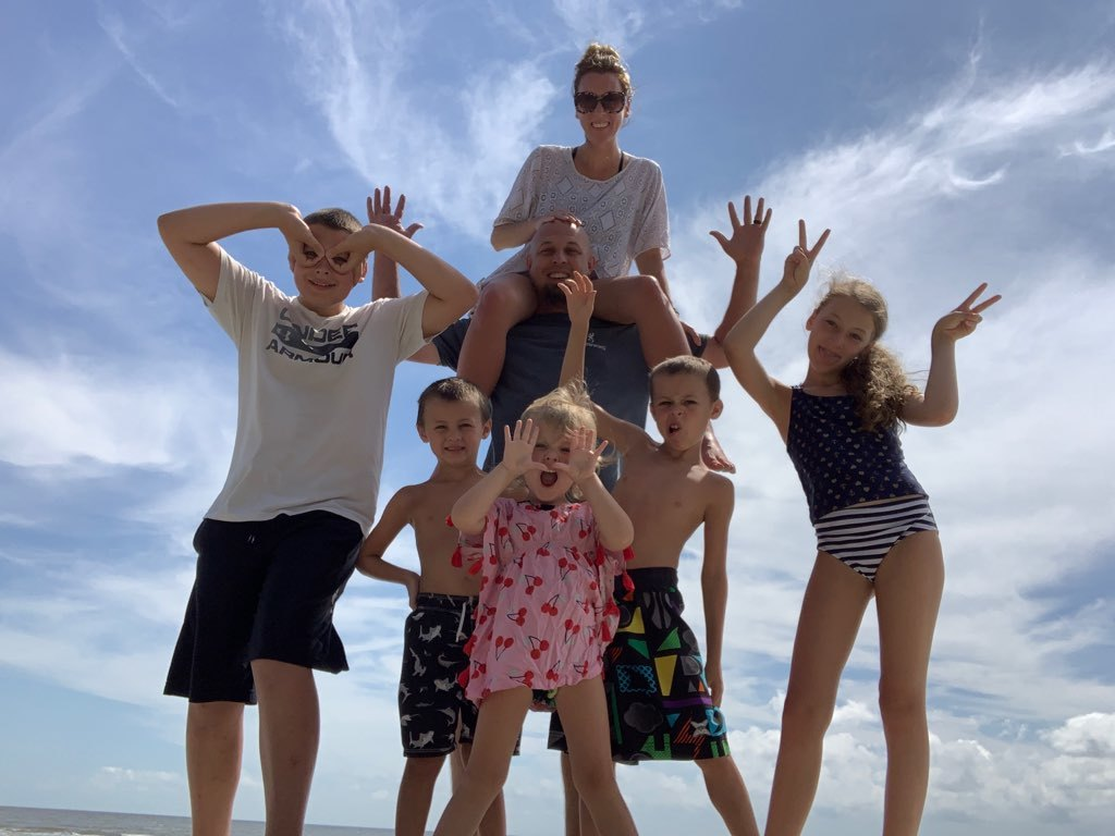 Eric & Michele Michelin (with kids, Cole, Crosby, Raleigh, Josalyn & Wynston)