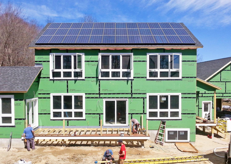 New-Solar-Home- Construction