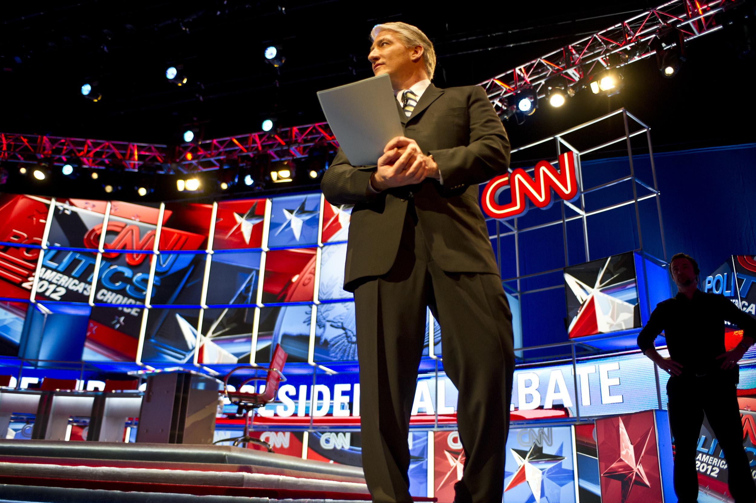 Jon King at Republican National Debate
