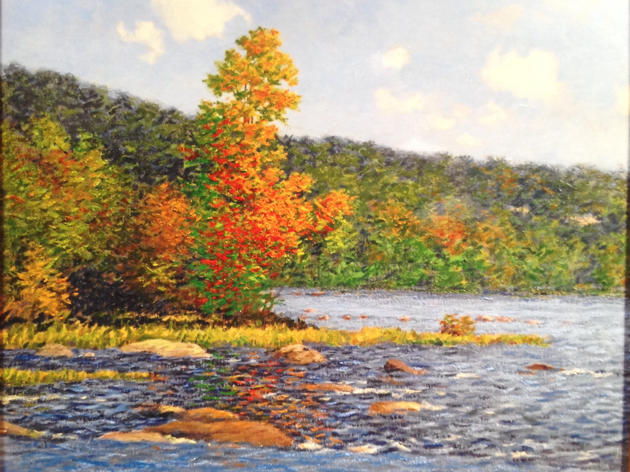 James River near Pony Pasture by Durwood Domissee