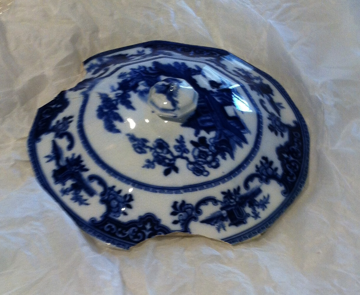 Tureen lid ca. 1820