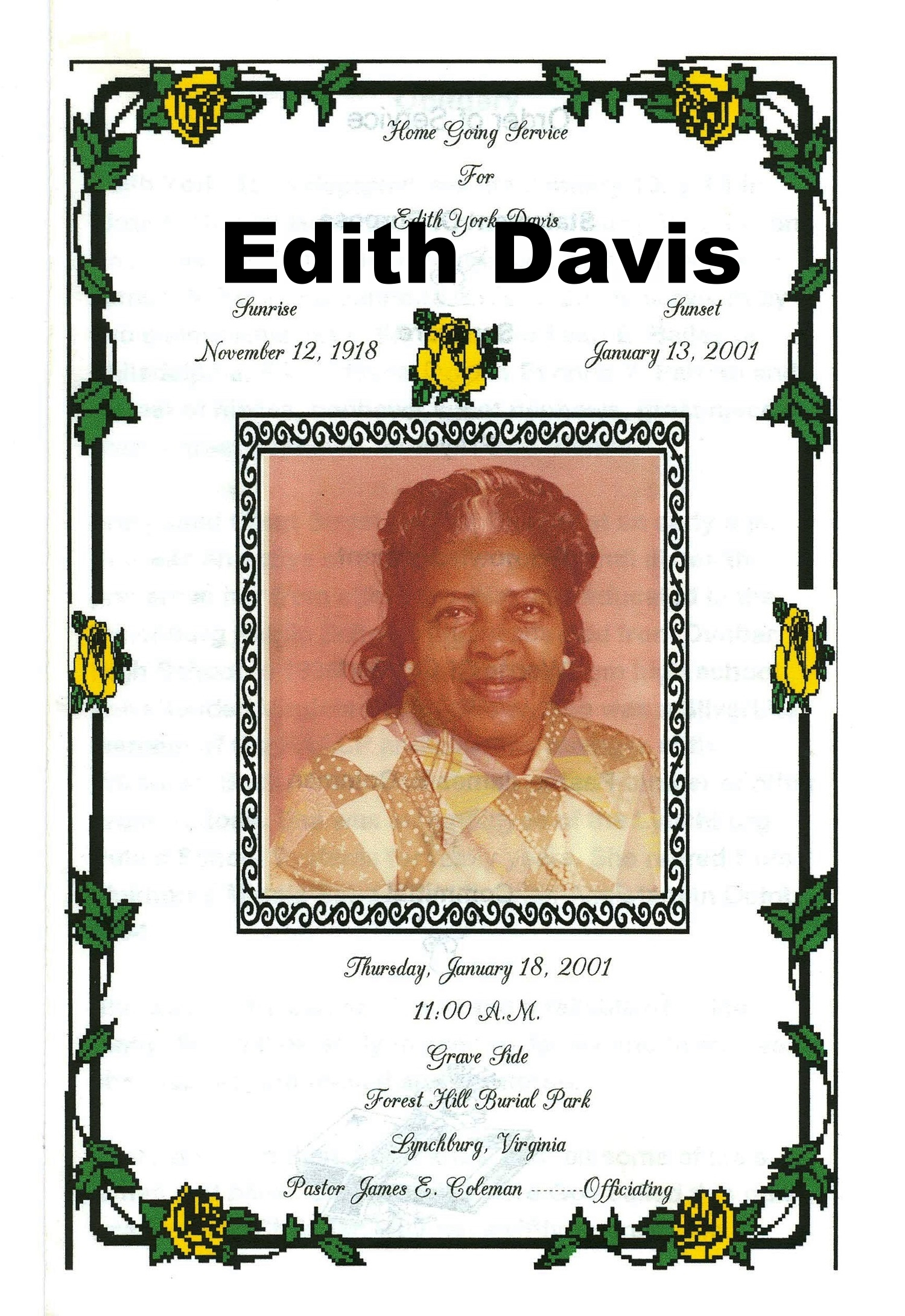 Edith Davis
