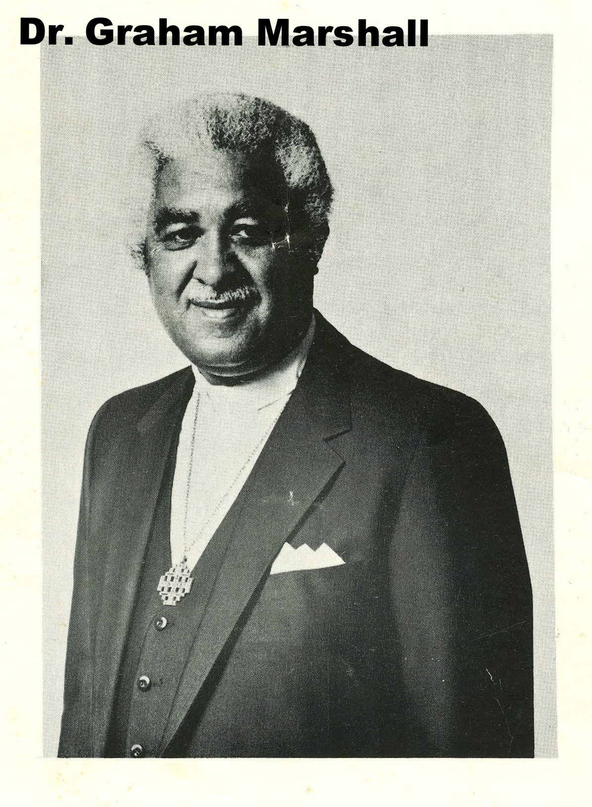 Dr. Graham Marshall