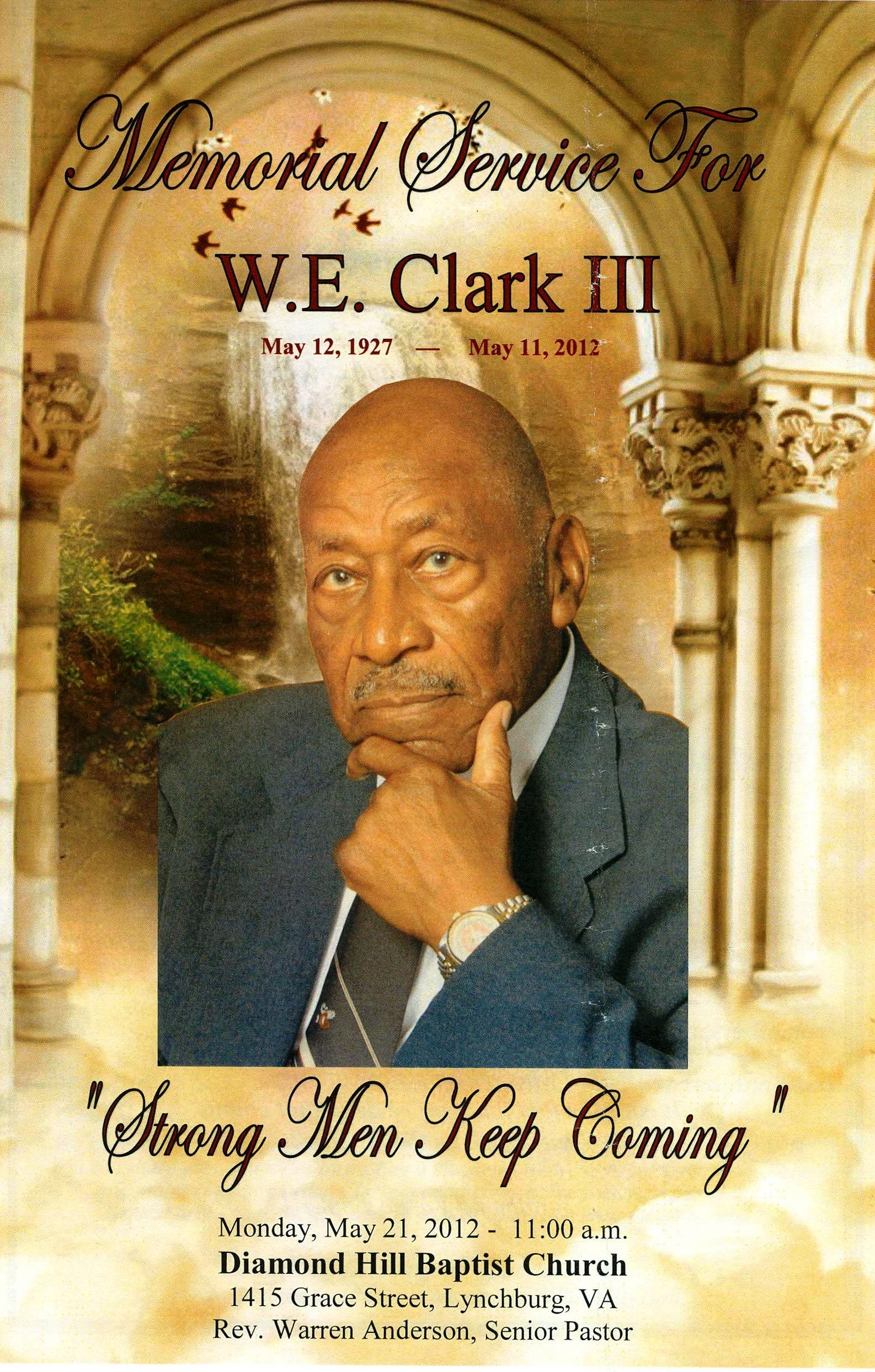 Willie E. Clark III