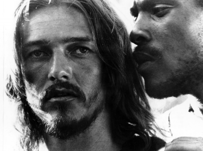 Neeley as Jesus and Anderson as Judas in the 1973 film production of Jesus Christ Superstar (tedneeley.com)