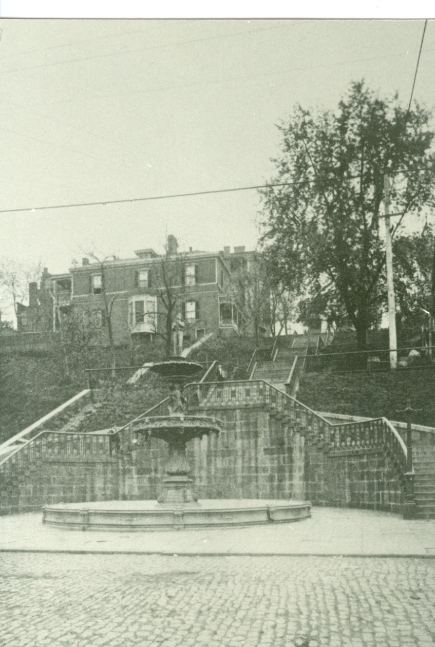 Monument Terrace before The Doughboy Statue was Installed