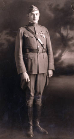 Alfred barksdale during wwi