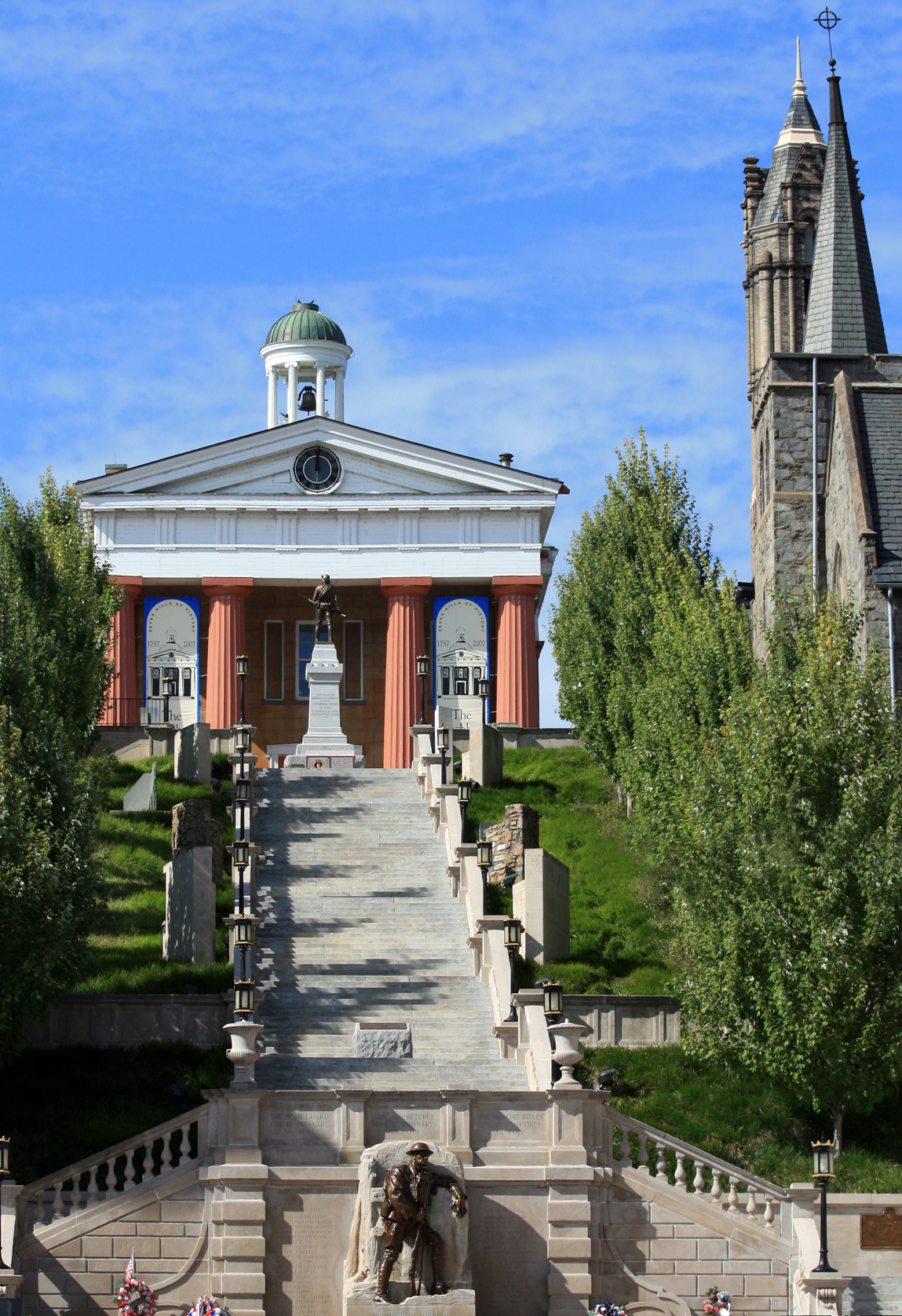 Lynchburg museum and monument terrace