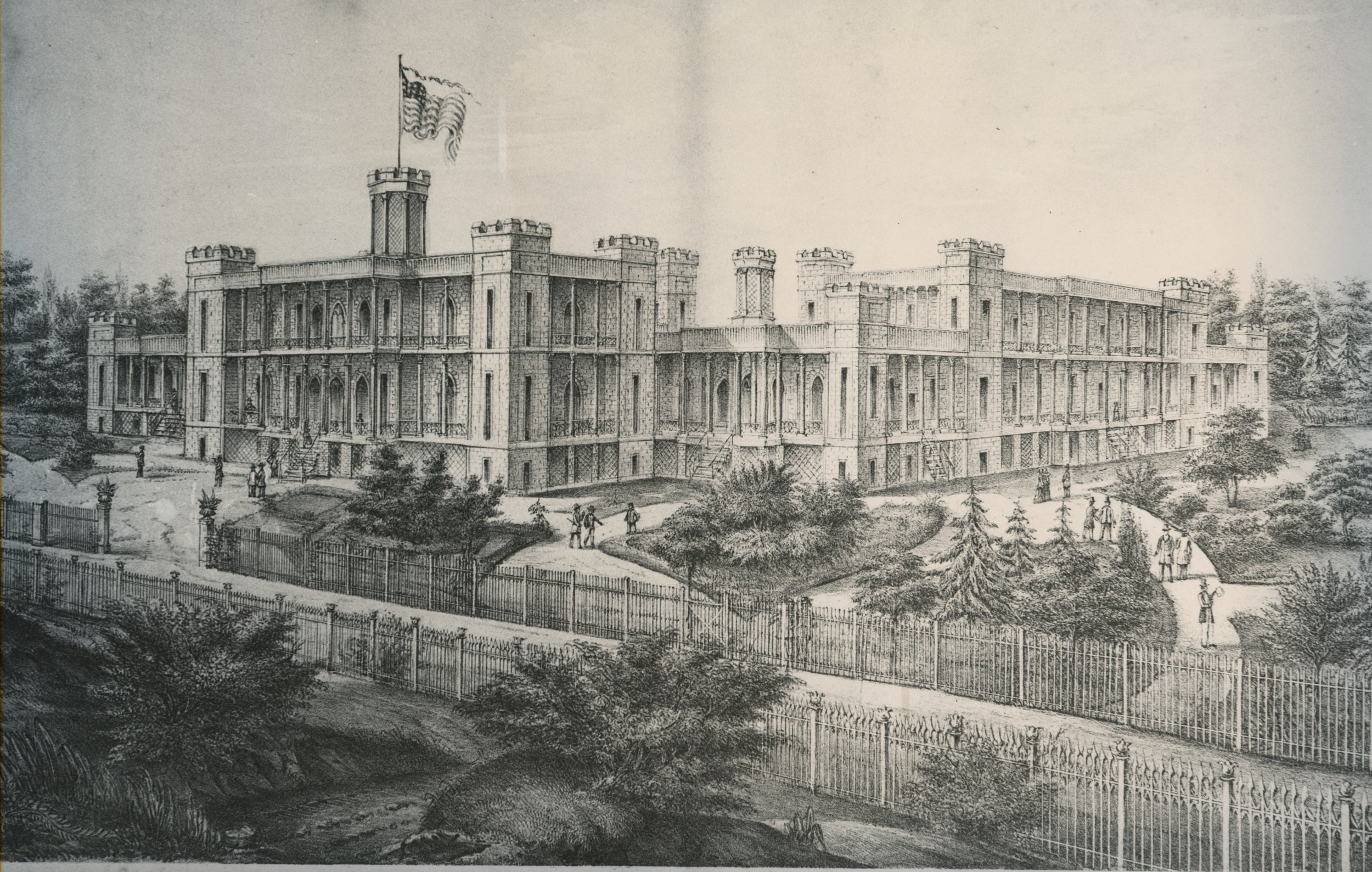 The first lynchburg college