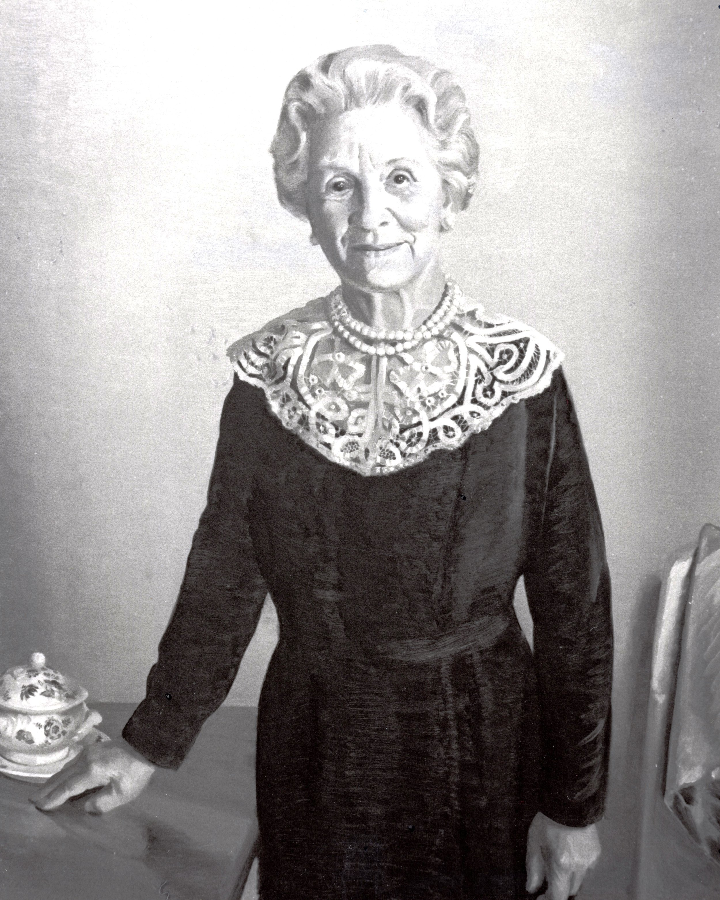 """Emma Serena """"Queena"""" Stovall is buried in Presbyterian Cemetery, she did not begin here painting career until the age of 62. Known as Grandma Moses of Virginia, her works depict blacks and whites in rural settings."""