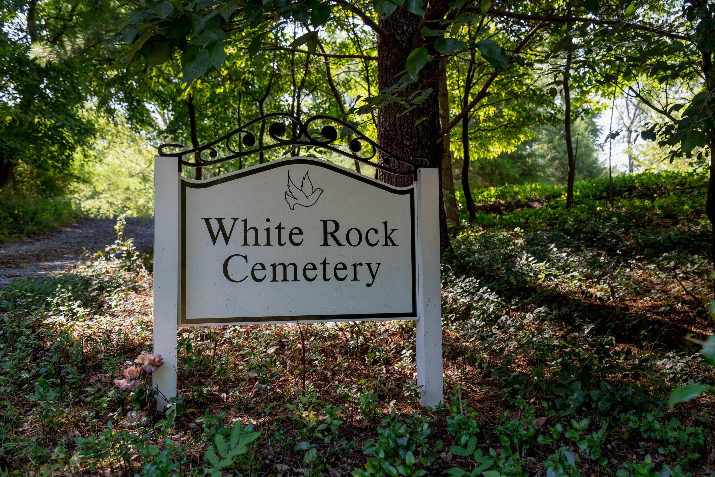 White Rock Hill - Est. 1870
