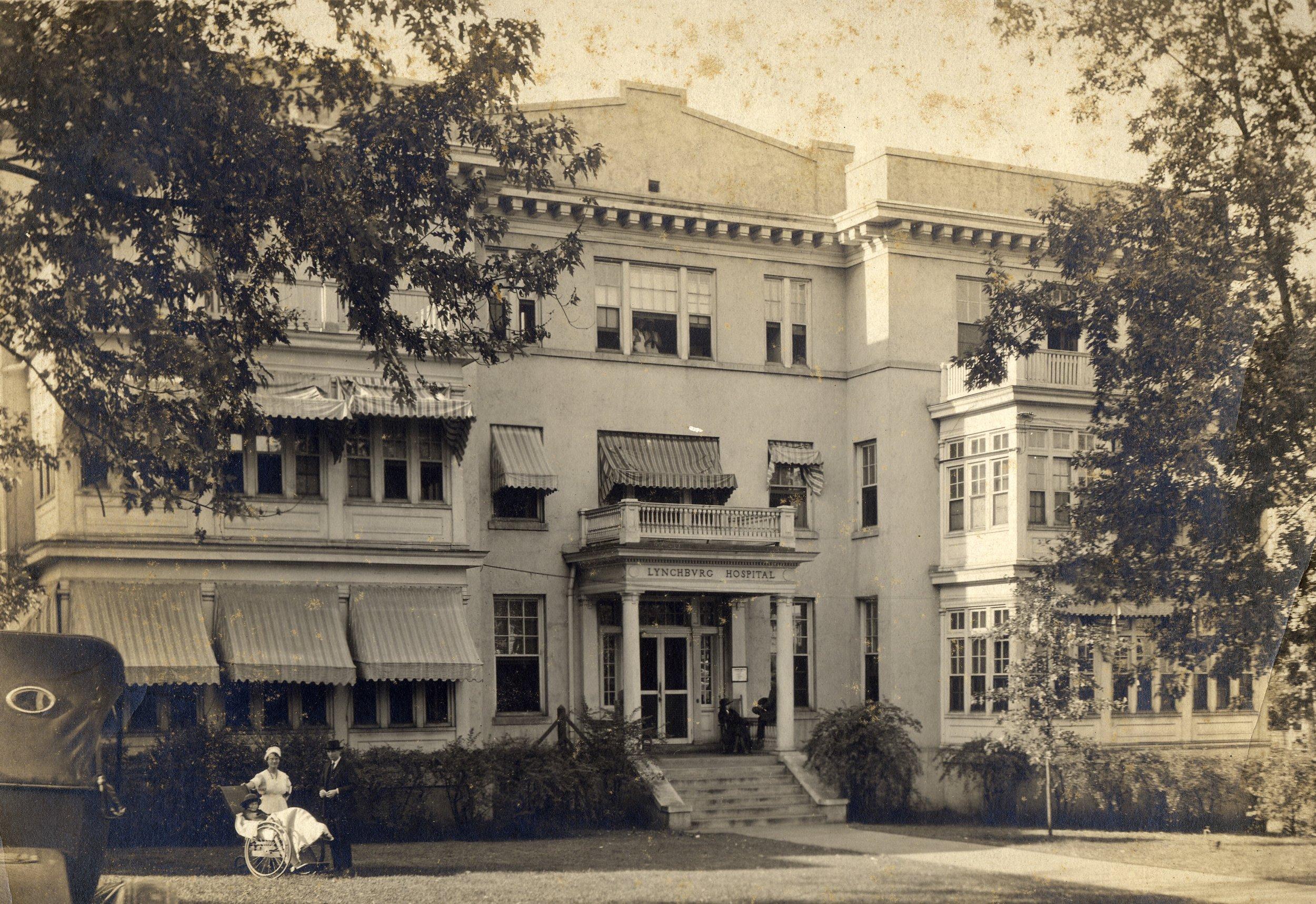 Lynchburg Hospital, built 1912 (now Tinbridge Manor)