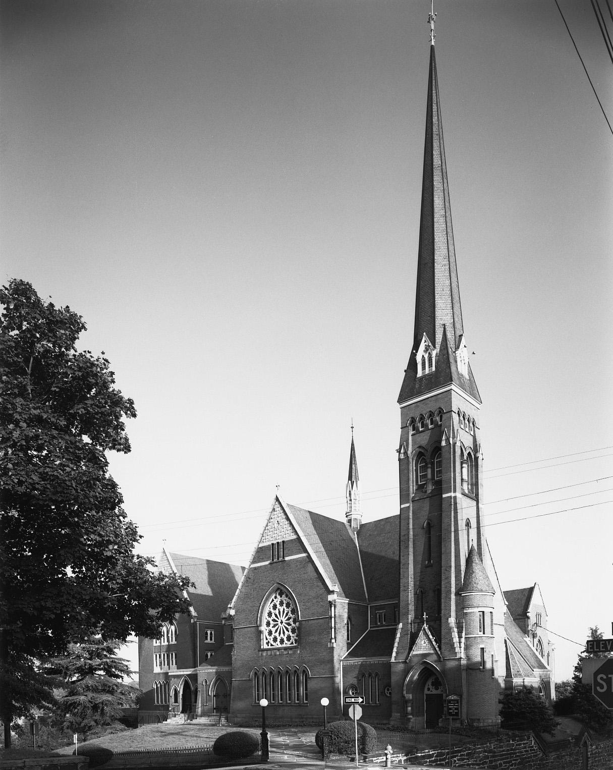 Court Street Baptist Church, 1967