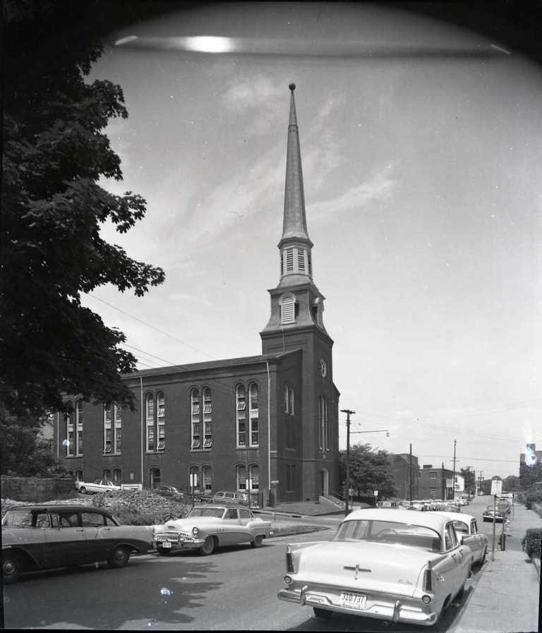 Court Street Baptist Church, ca. 1967