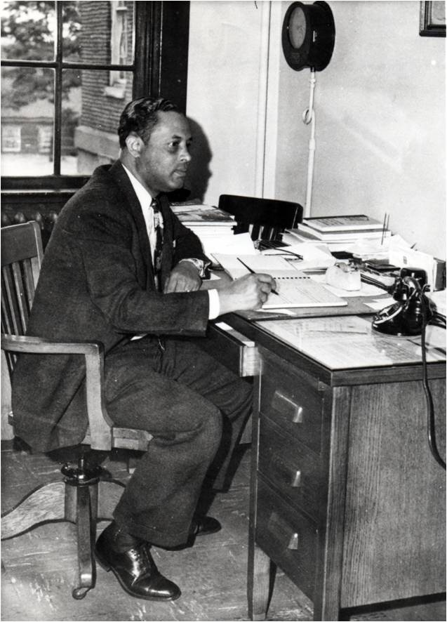 C.W. Seay while working as principal of Dunbar High School