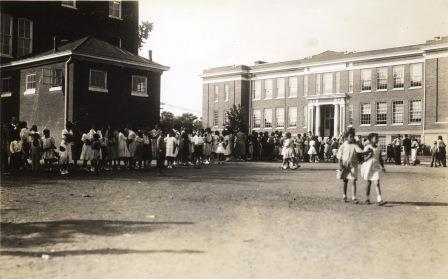 R.S. Payne and Dunbar schools, 1954