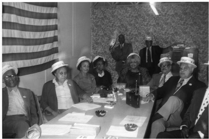 Seay's campaign staff, c. 1970's
