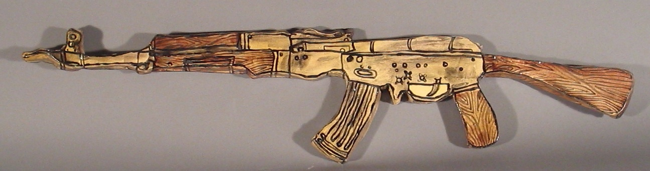 Clay AK47 (Weapons Series)