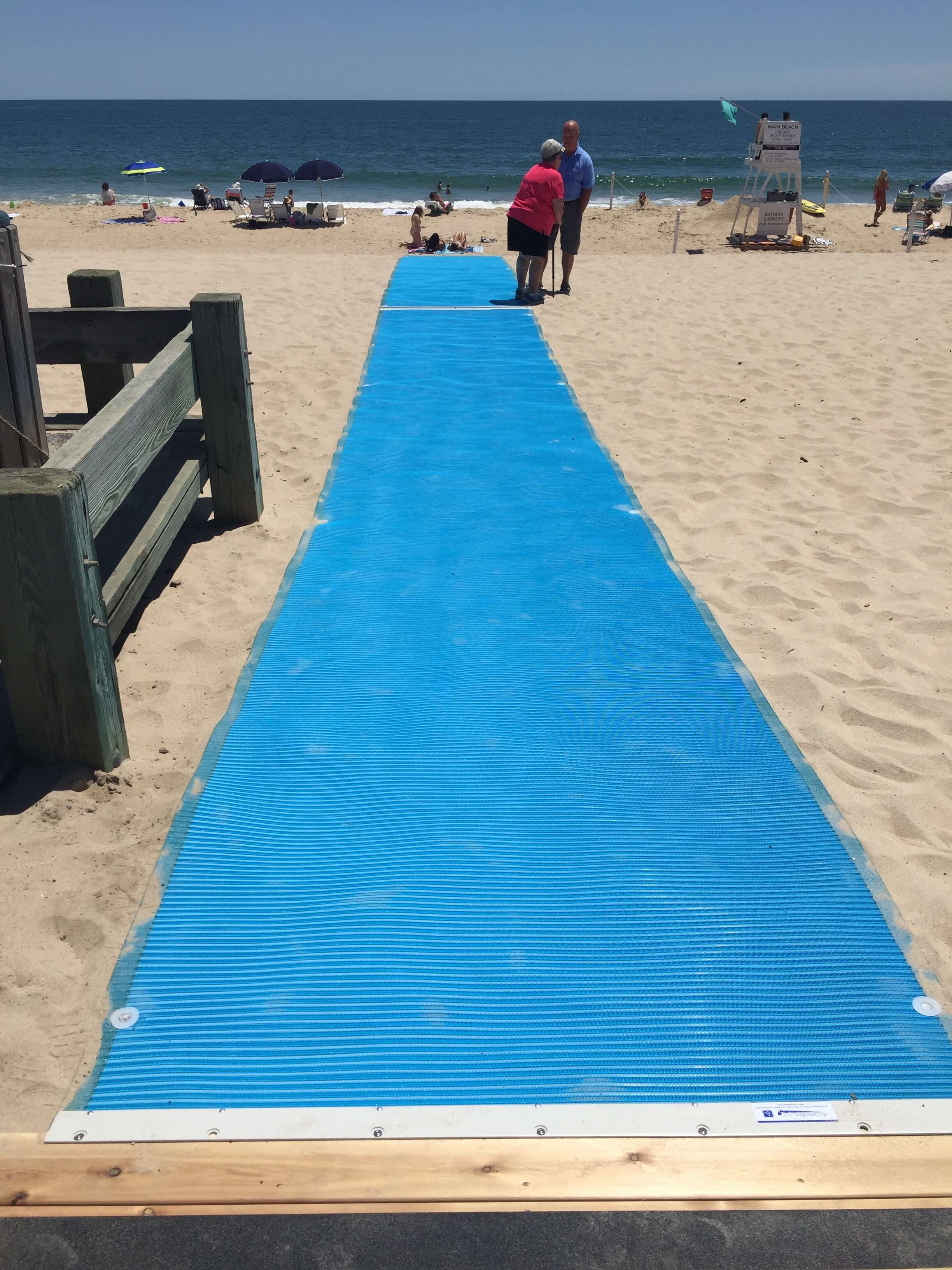 Main Beach Walkway Ribbon Cutting
