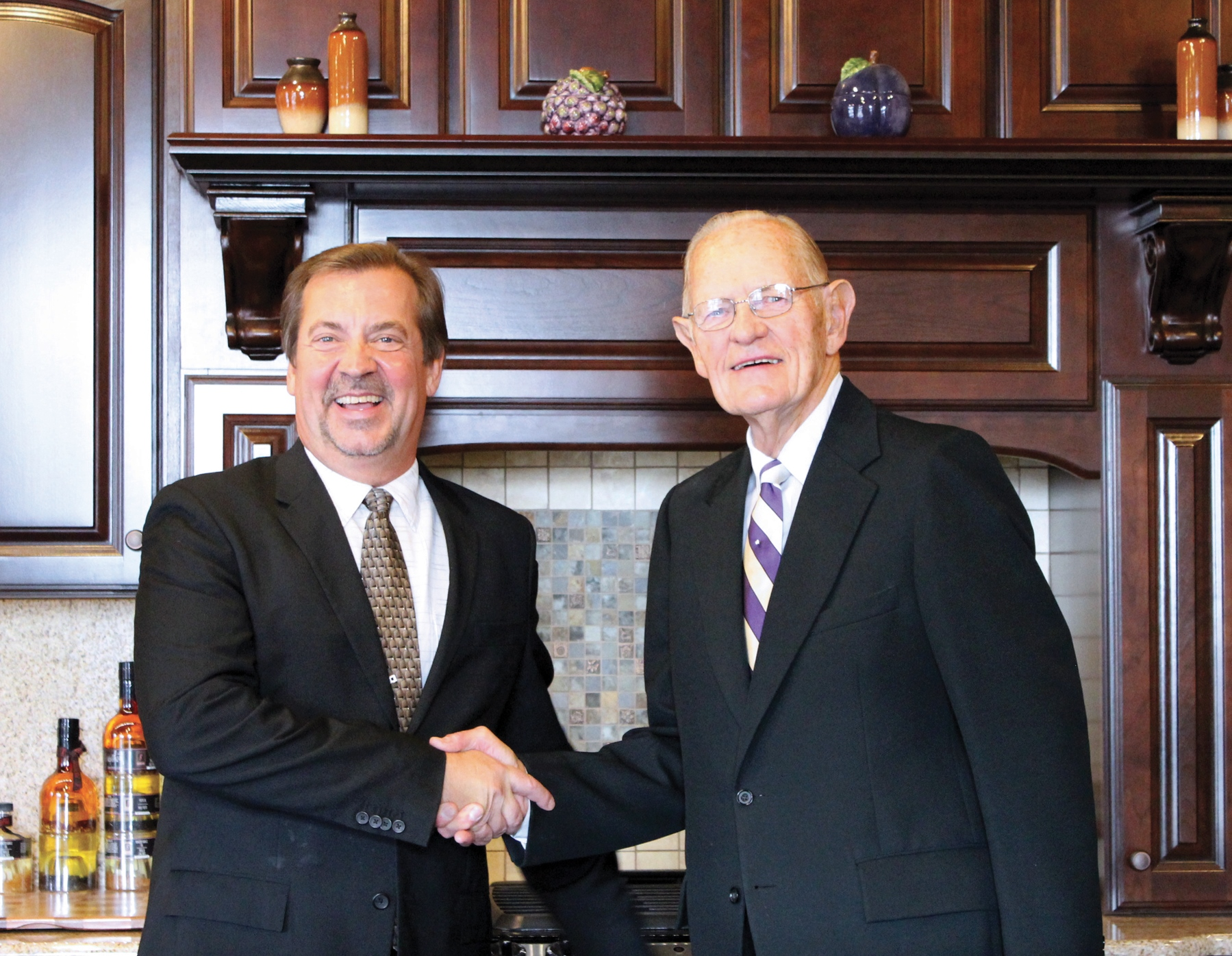 Paul Johnson & Roger Olson