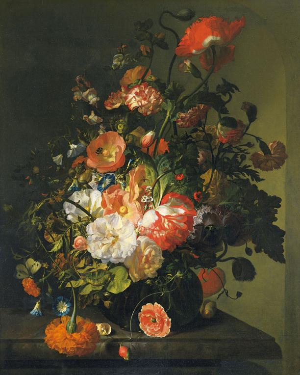 Flower still-life, Rachel Ruysch c. 1700