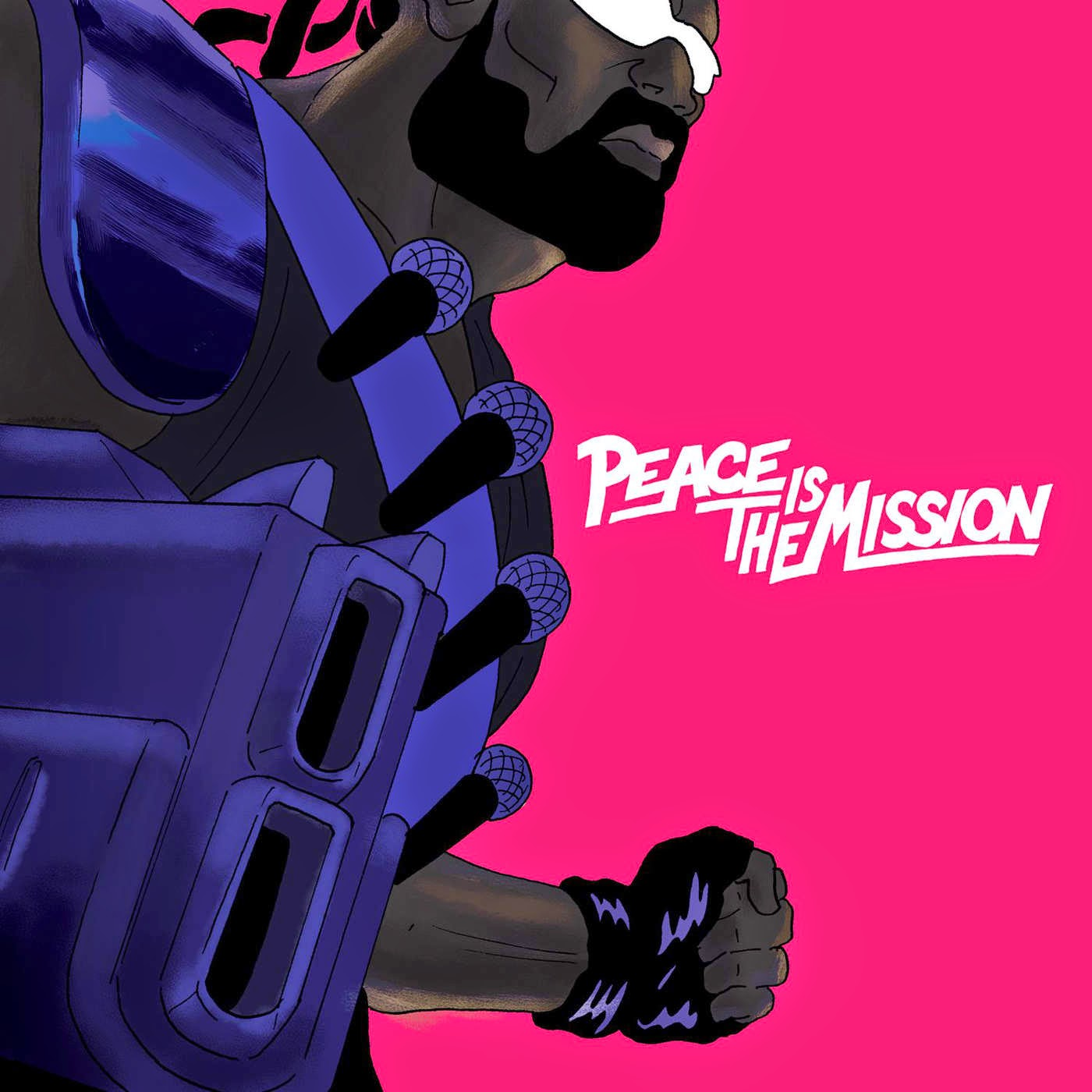 Major Lazer Peace is the Mission cover art