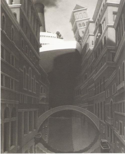 An illustration from Chris Van Allsburg's incredible  The Chronicles of Harris Burdick
