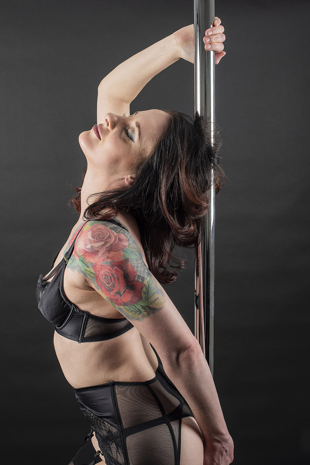 Pole dance portrait photography Brighton
