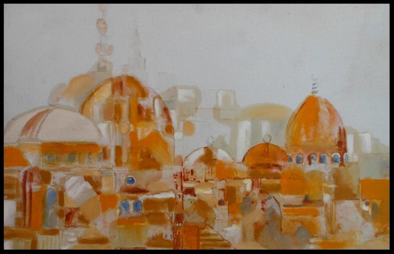 Citadel In Orange