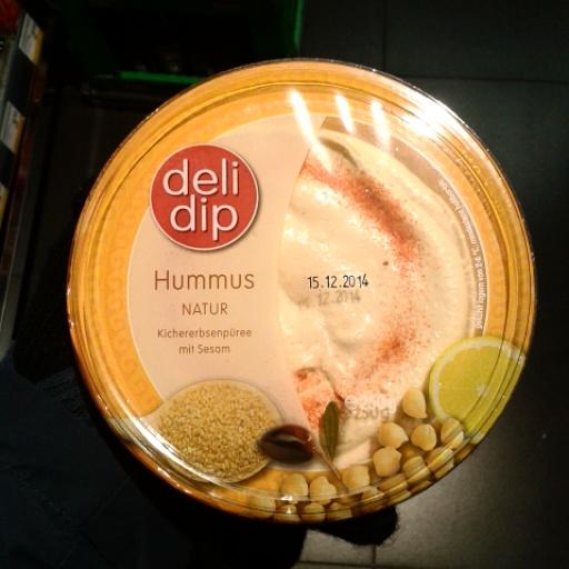 Hummus von Billa oderMerkur