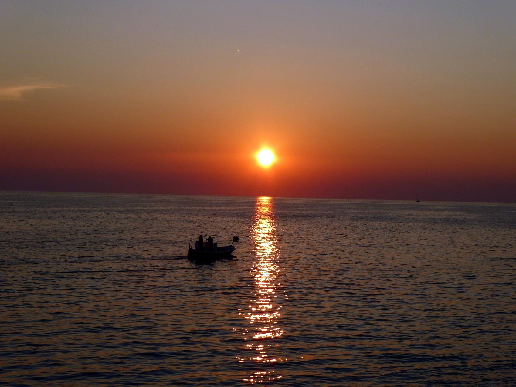 Sunset in Rovinj - Croatia