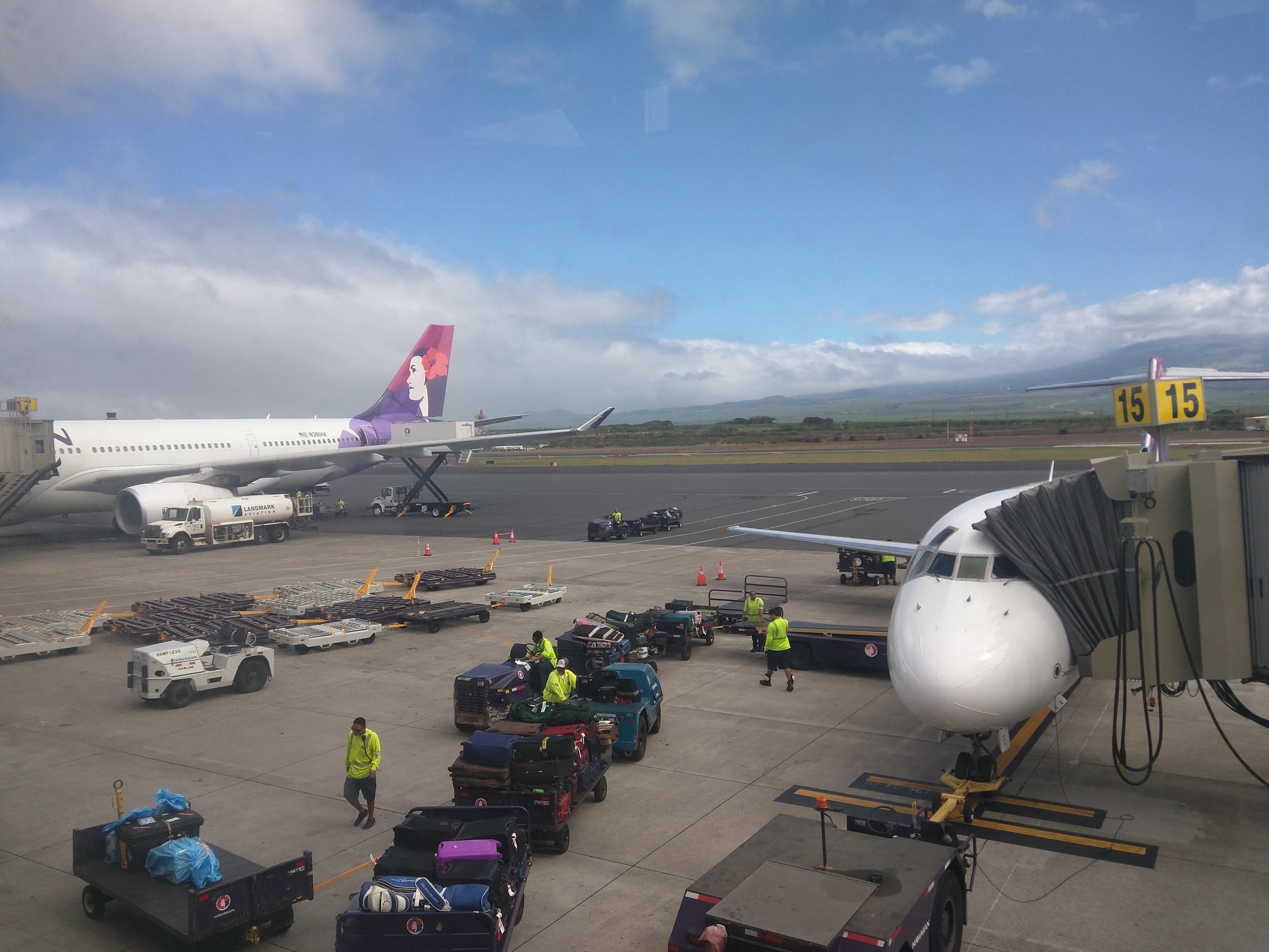 Kahului Airport, Maui