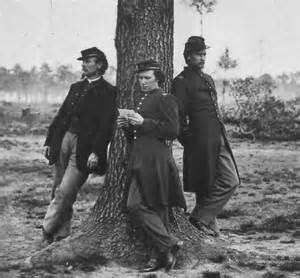 Civil War Soldiers Leaning Against Tree.jpg