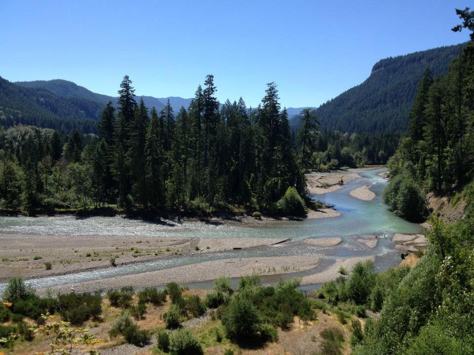 Cispus River & Valley