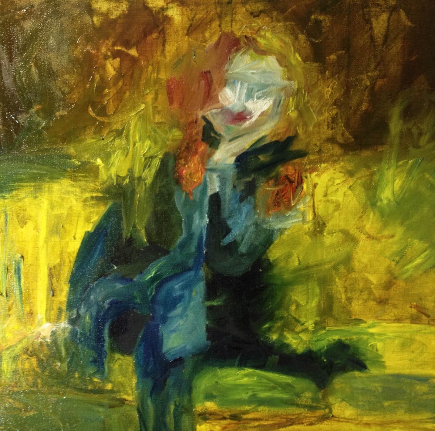 20. 18x18, oil on canvas