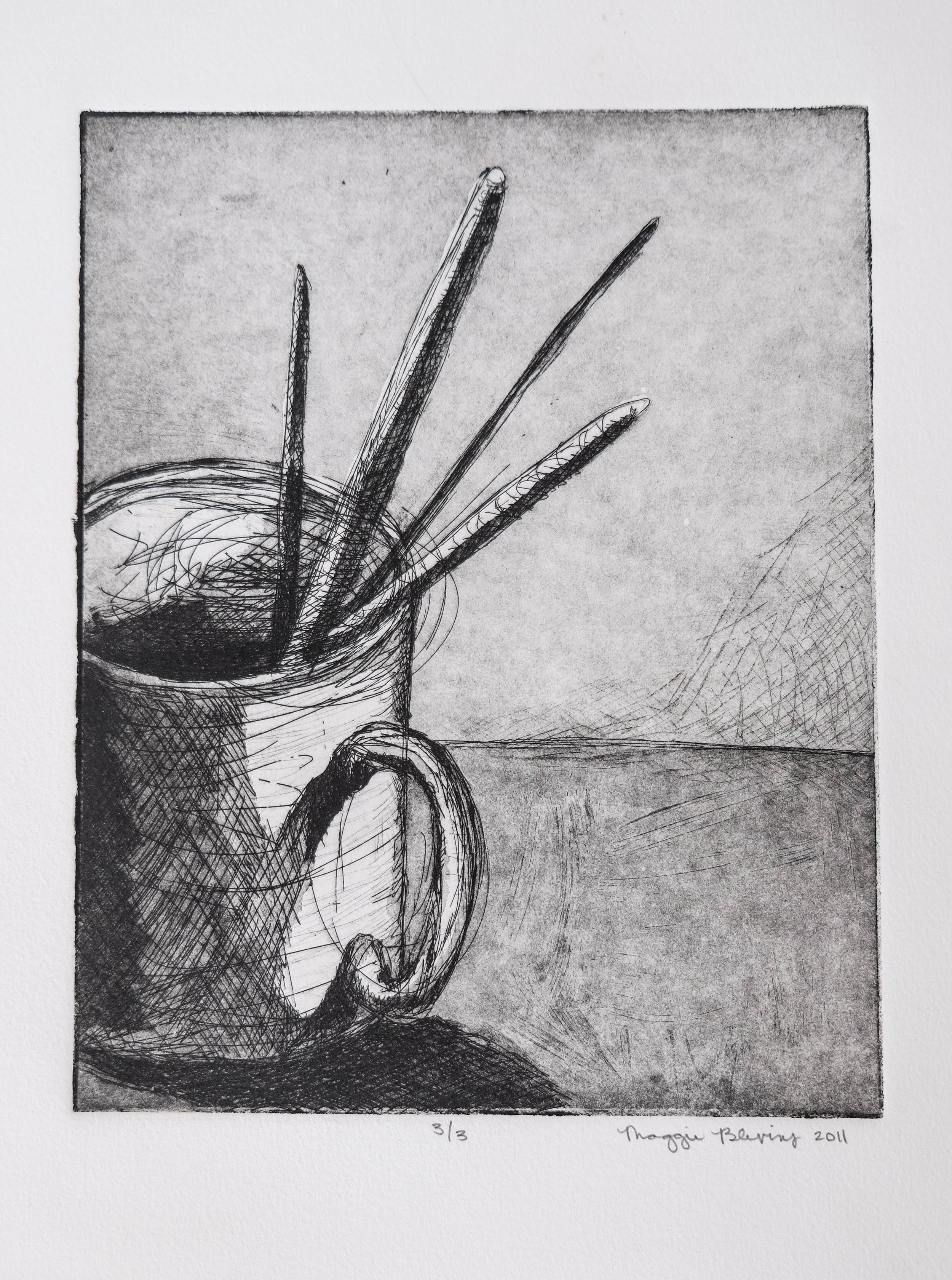 29. 8x10, Etching (1 of 3)