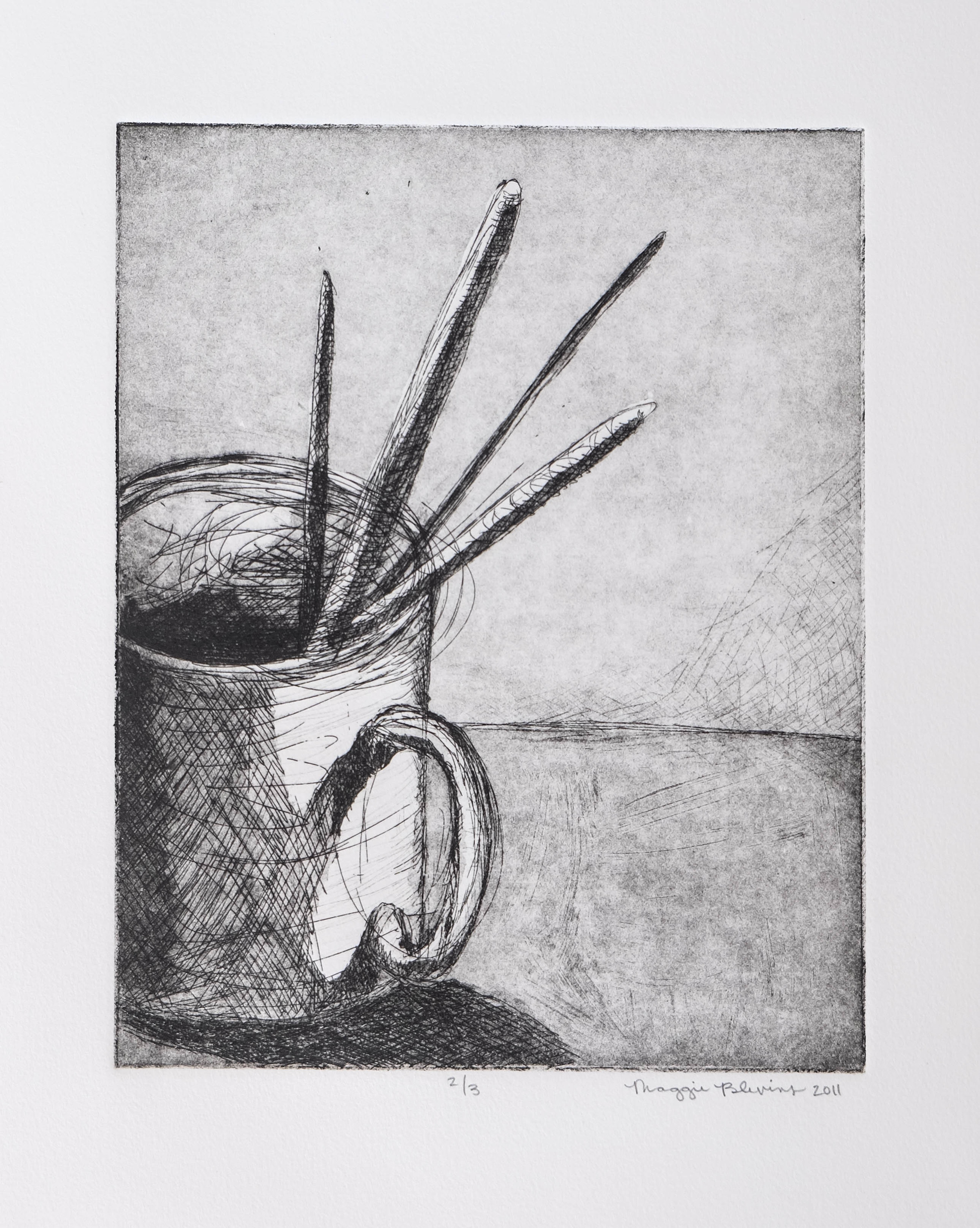 30. 29. 8x10, Etching (1 of 3)