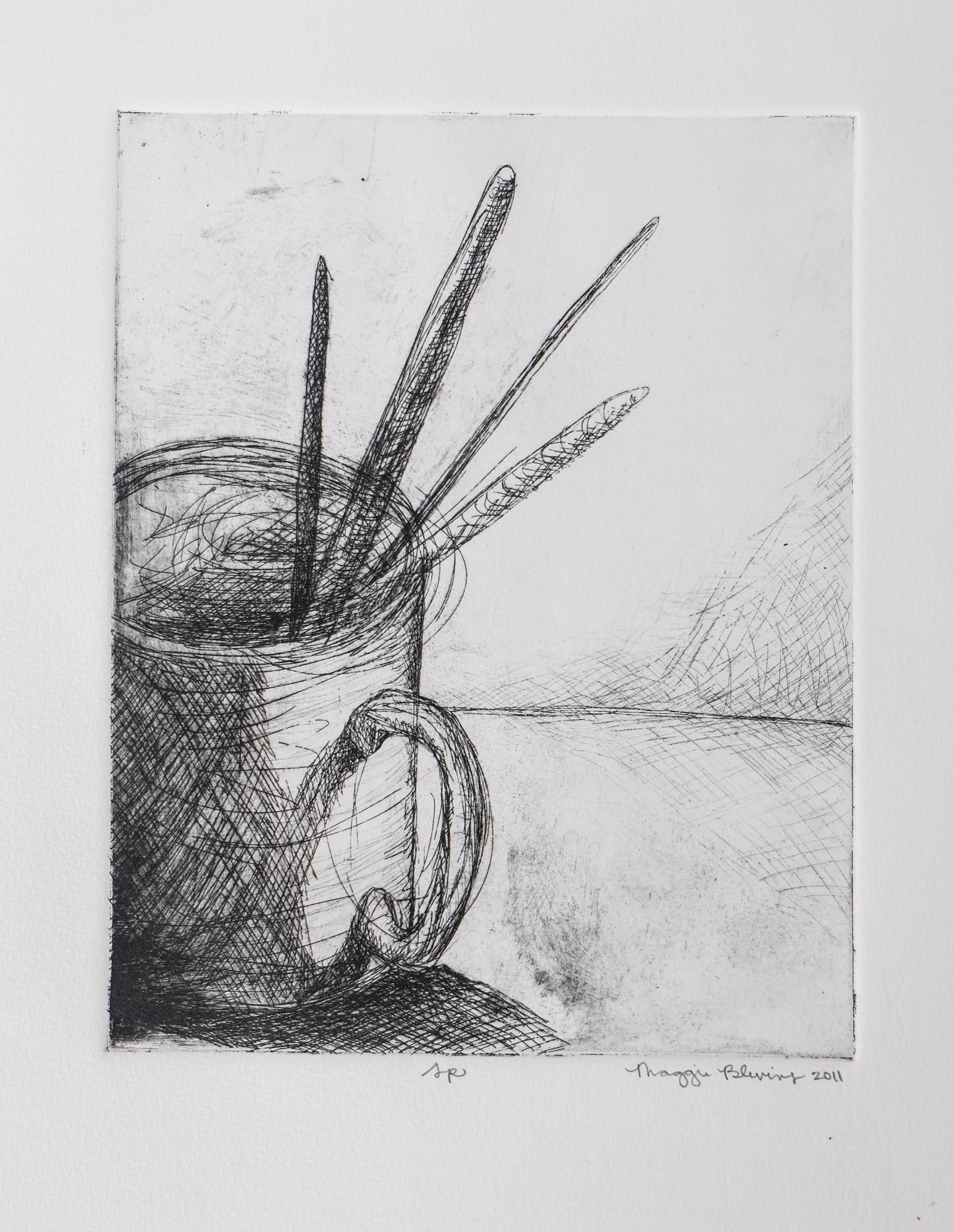 31. 8x10, Etching (1 of 3)