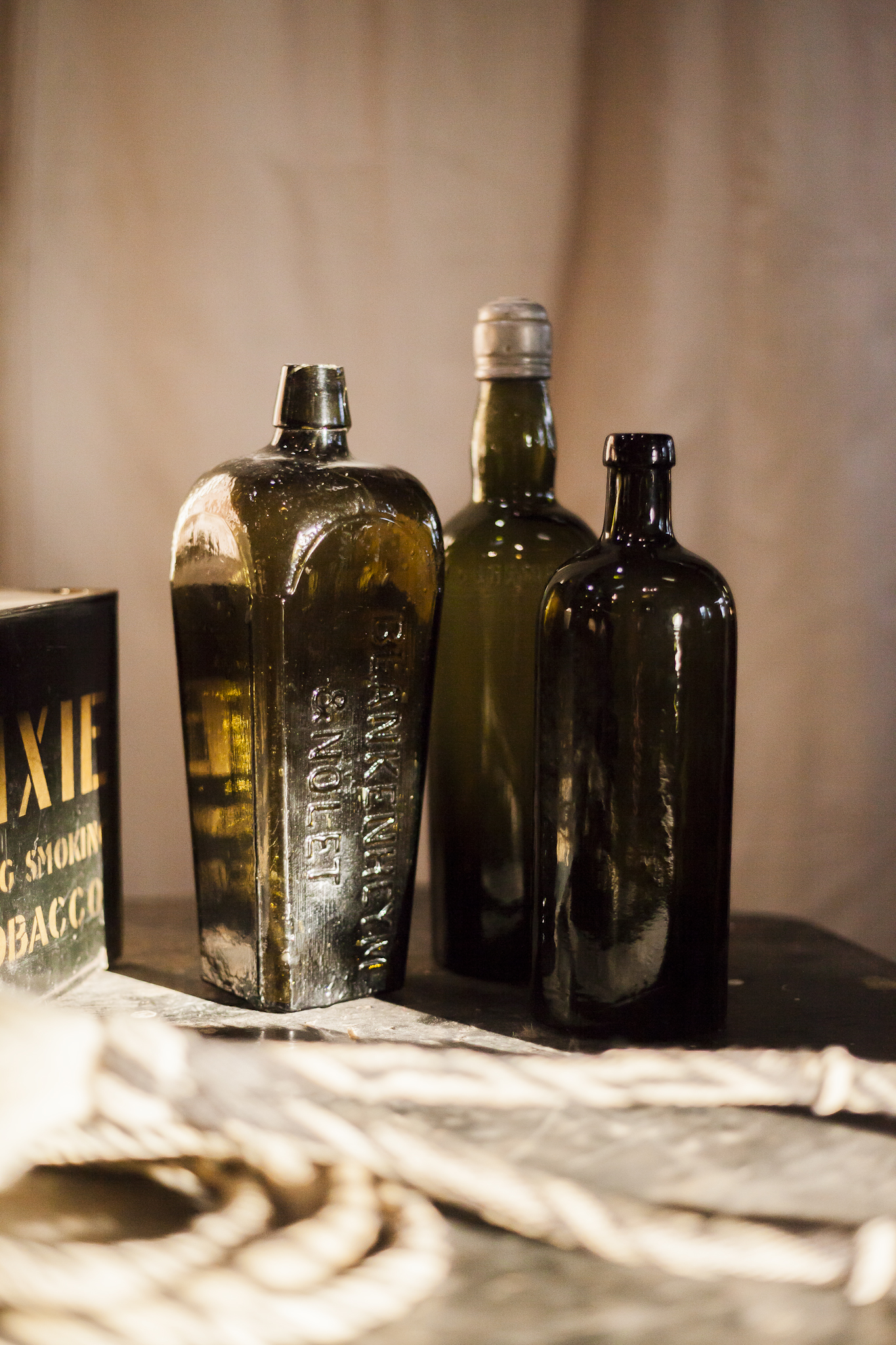 Antique Medicine, Apothecary Supplies and a Lasso