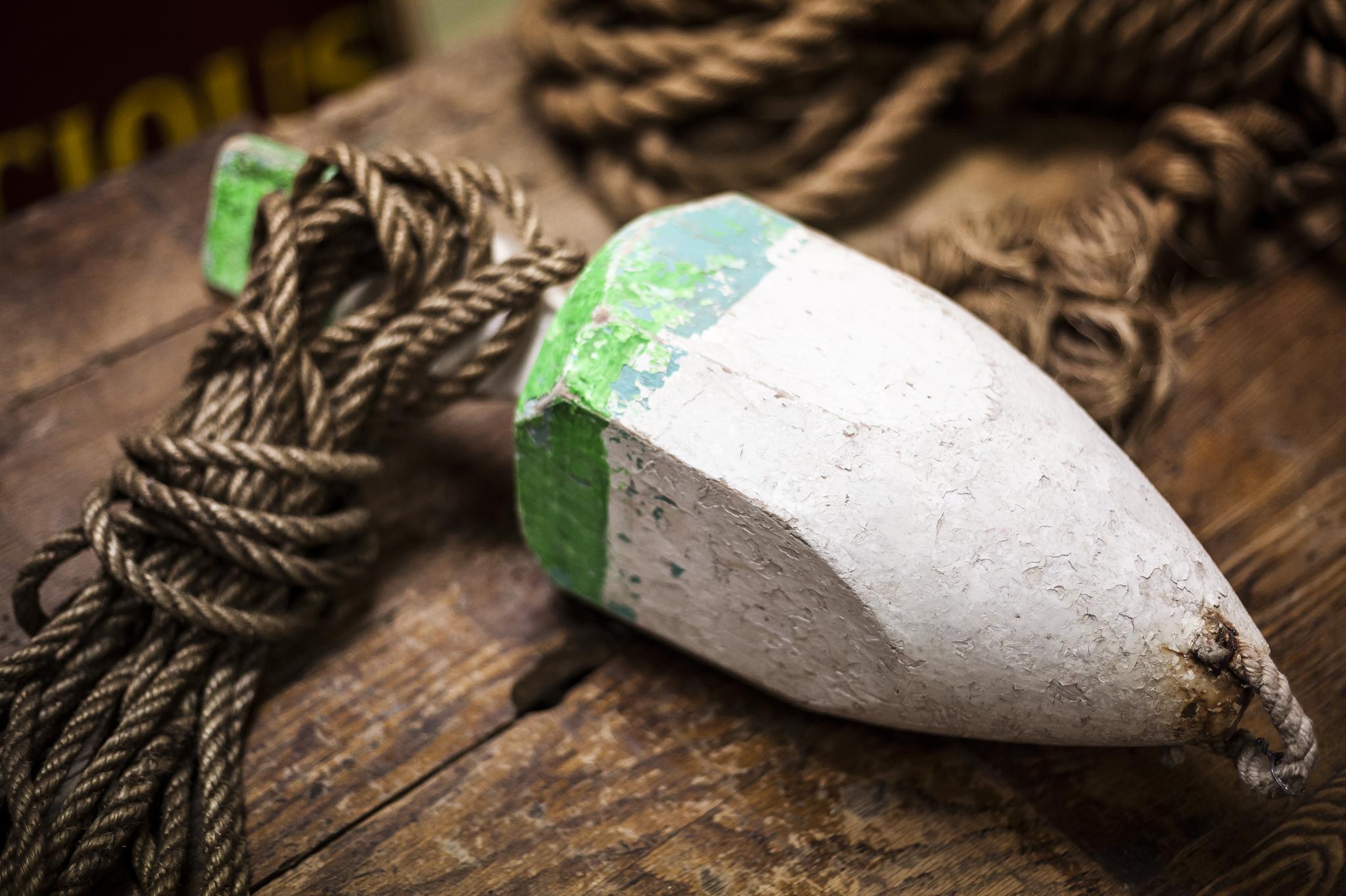 Wooden Antique Nautical Buoy
