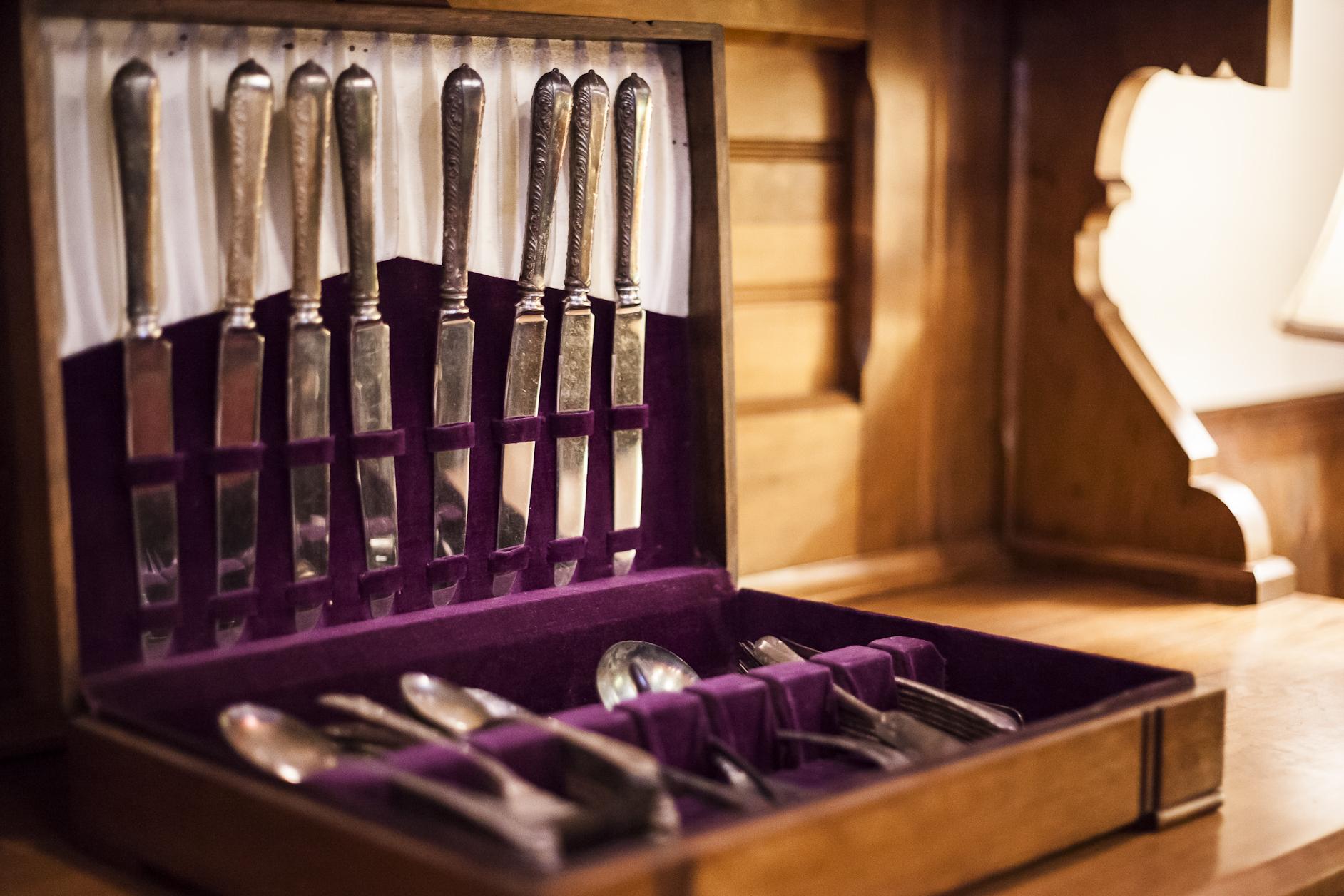 Old Antique Kitchen Knives