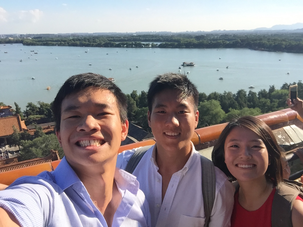 Took a short break in between meetings to visit the Summer Palace in Beijing. (Hiking in business casual is not recommended.) August 2016.