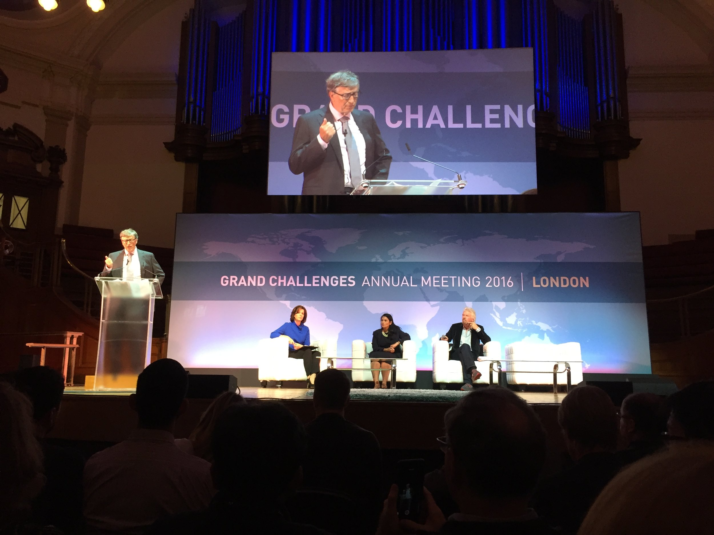 Bill Gates calls out the need for improved infectious disease tools. October 2016.
