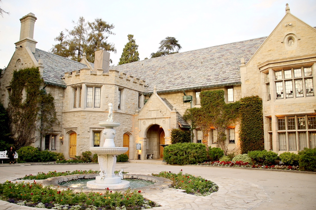The Playboy Mansion is up for sale. Photo: Getty Images