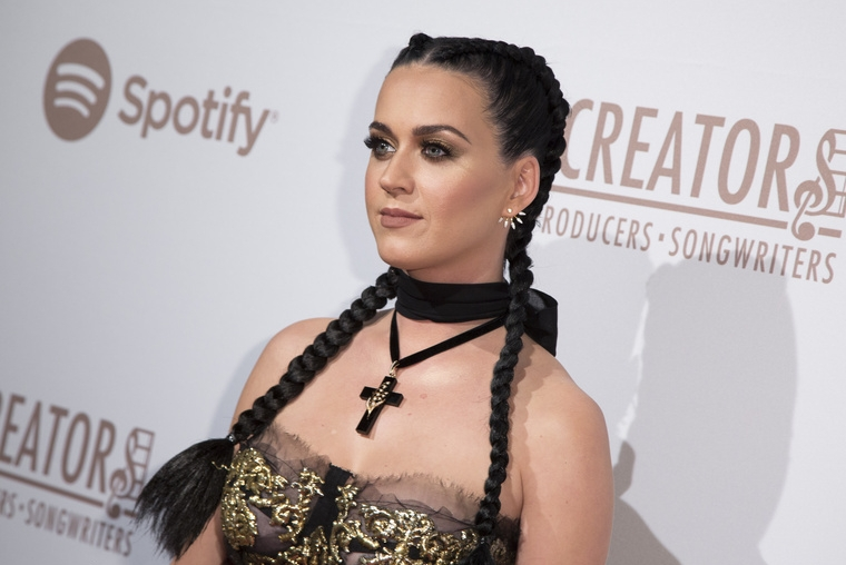Katy Perry at Creators Party in Los Angeles. Photo credit: Getty Images