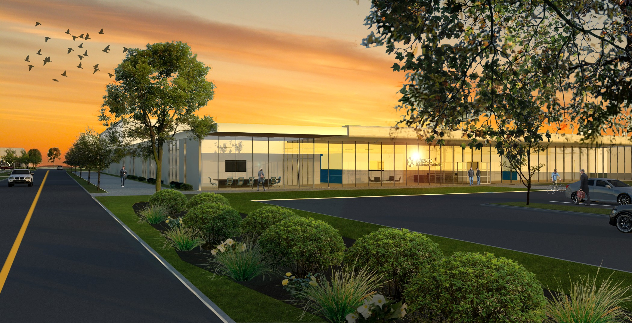 cedar park innovation center - 75,000 sf  Austin, TX - Development advisory services  and d  esign by Larivey
