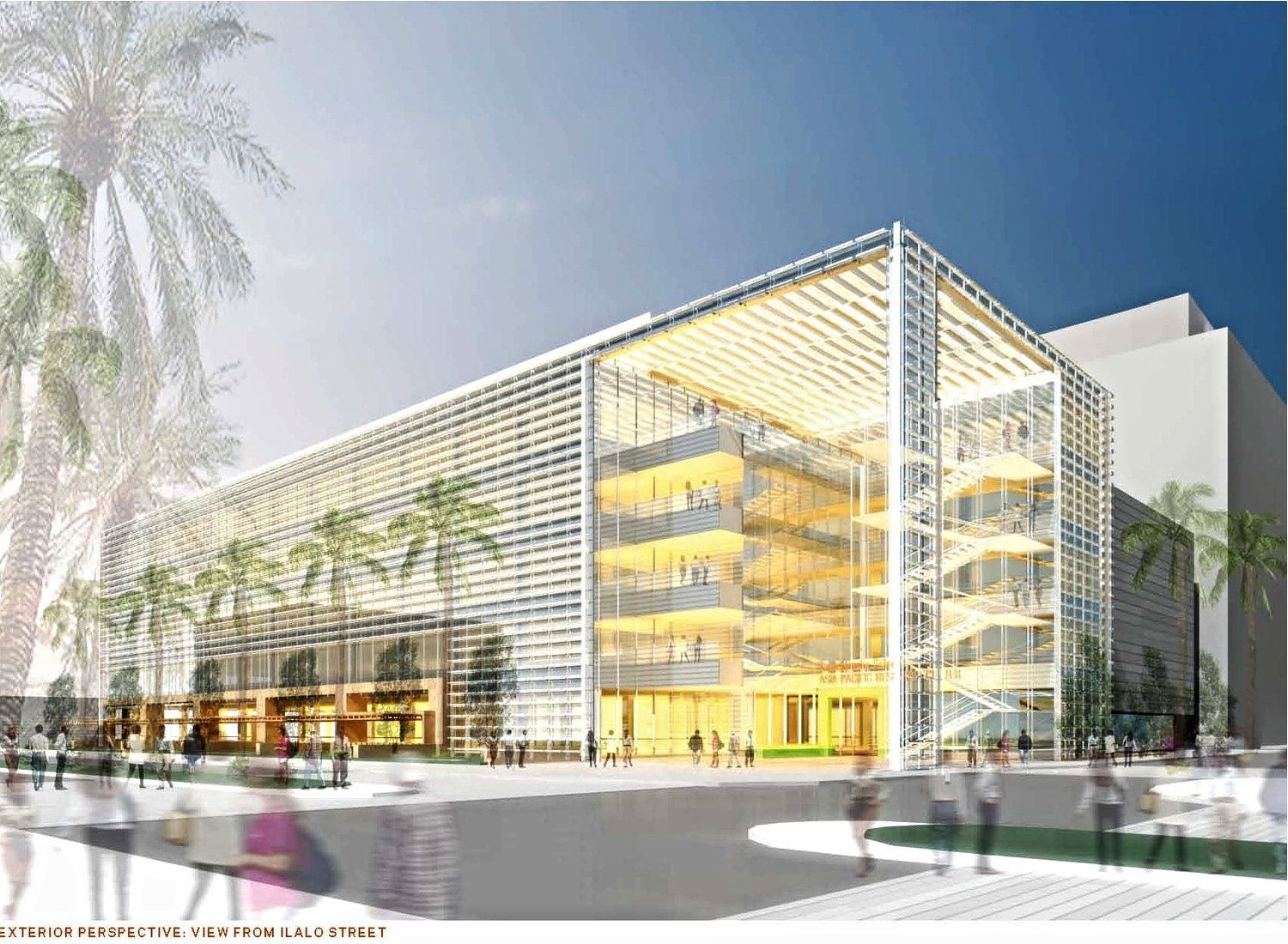 asia pacific innovation center - 450,000 sf   Honolulu, HI - Development advisory services  with Phase 3 Properties and design by   HOK